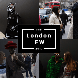 London Fashion Week febbraio 2017