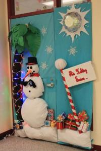 Barbeau takes first place in door decorating  The Downey ...