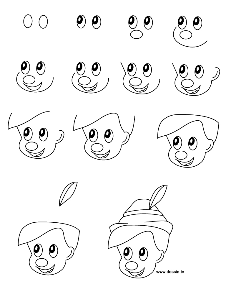Easy to Draw Disney Characters Step by Step