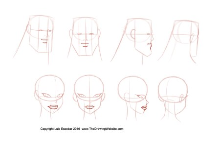 bruce timm style noses formula turn around mouth the drawing website