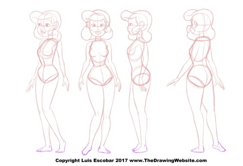 bruce timm style the drawing website