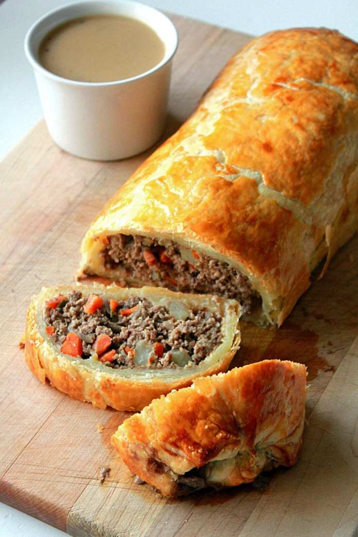 How to Make Minced Beef Roll Recipe