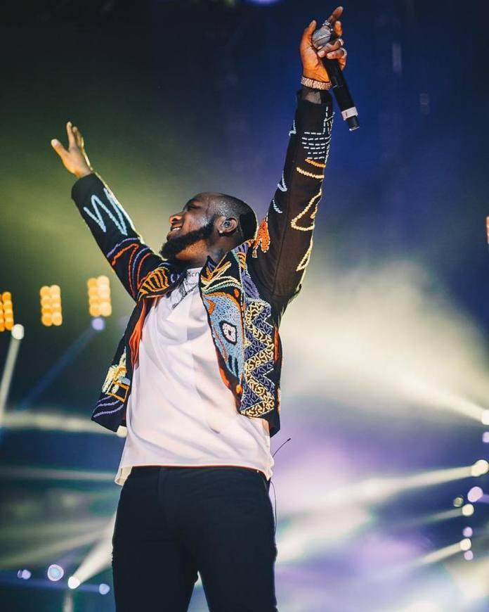 Davido at O2 Arena London – Afrobeats Taking the World by Storm