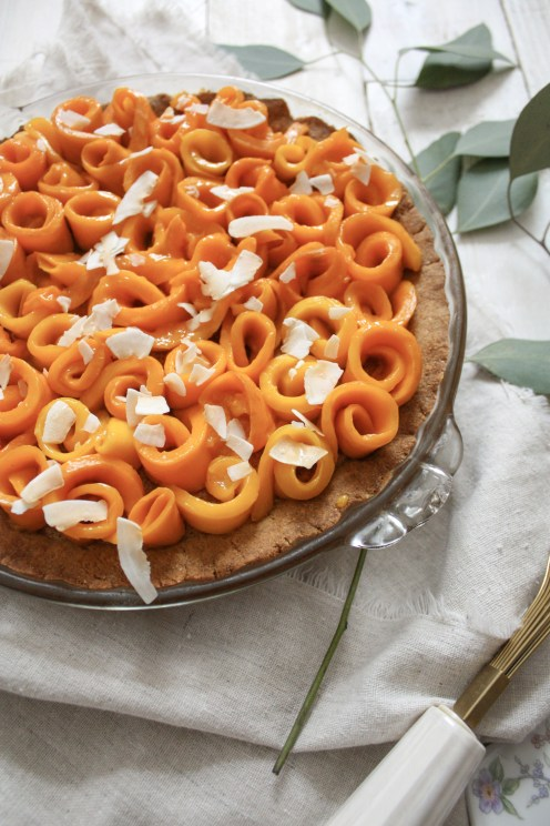 Mango Coconut Cream Pie | Dreamery Events