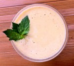 Papaya Tummy Soother Smoothie