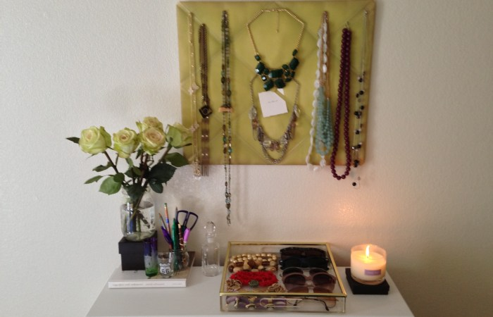 How To : Padded Board Necklace Display