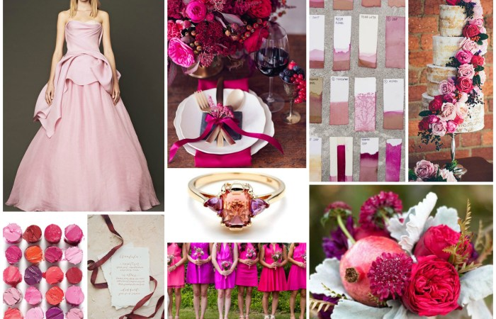 Fall Berry Hued Wedding Inspiration