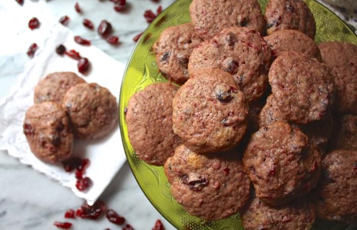 Double Cranberry Cookies