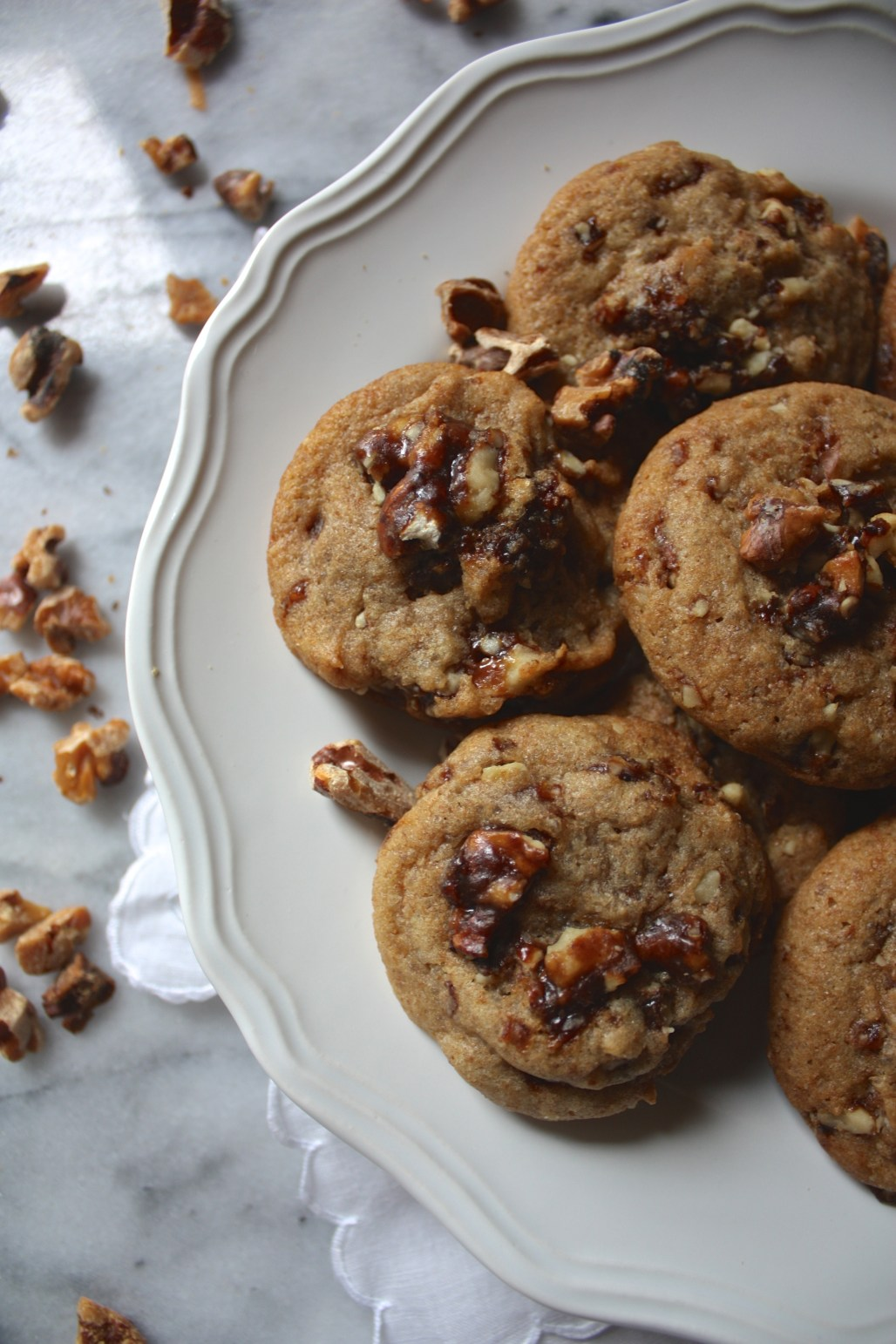 Candied Walnut Cookies