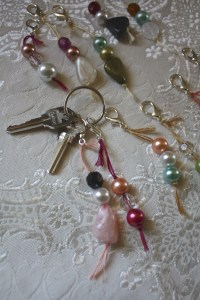 Bead Keychain How To