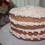 Champagne Ombre Cake with Mascarpone Whipped Cream