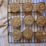 Banana Apple Spelt Muffins