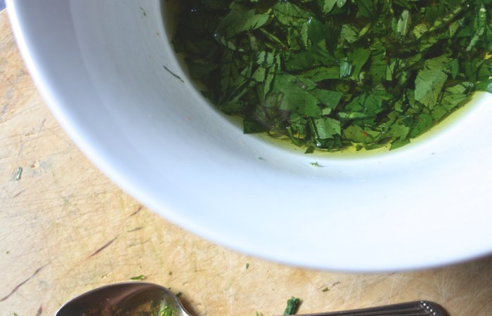 Fresh Herb Sauces for Summer Grilling