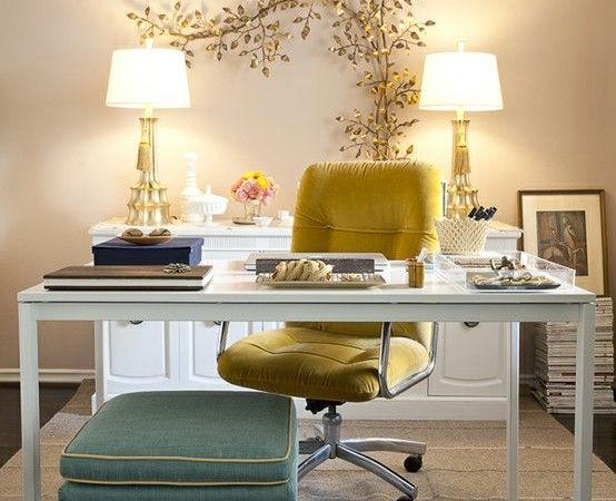 Going from White to Bright with Accent Chairs