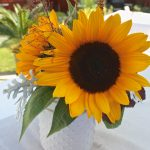 Summer Sunflower Centerpiece