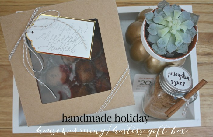 Handmade Holiday: Housewarming/Hostess Gift Box