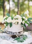Wedding Inspiration: Petite Cakes + Grand Florals