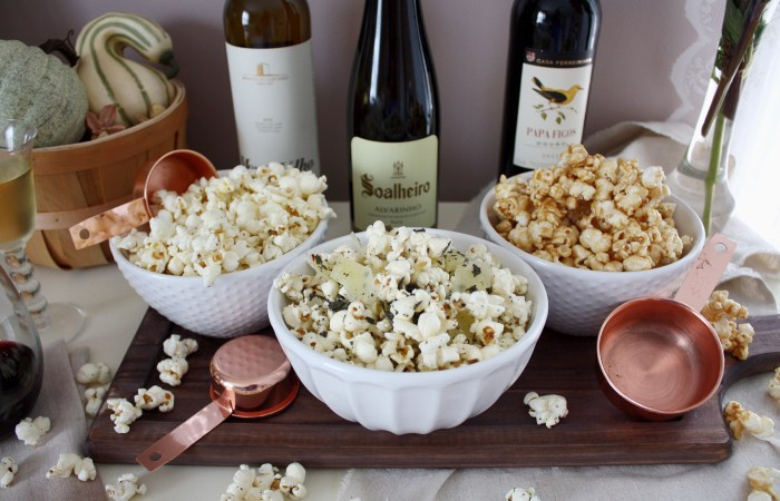 3 Perfect Popcorn & Wine Pairings for a TV Night In