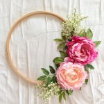 How To : Embroidery Hoop Wreath DIY