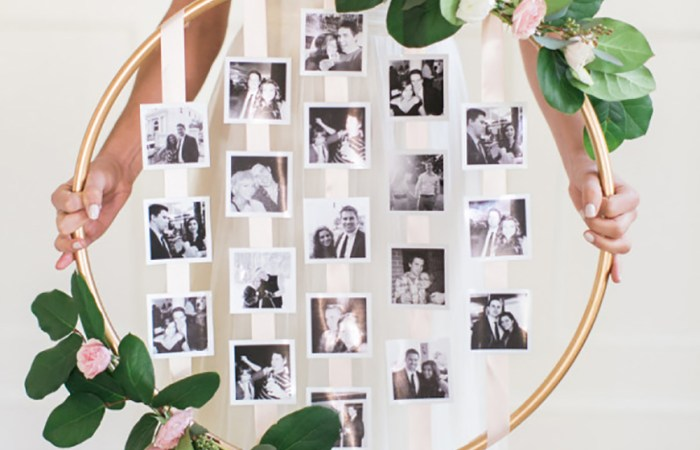 6 Creative Ways to Display Your Wedding Photos At Home