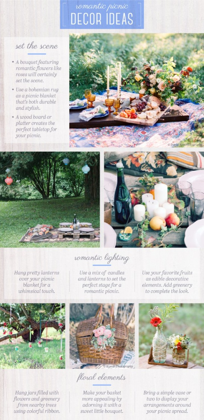 Creative Ideas for a Romantic Picnic | Dreamery Events