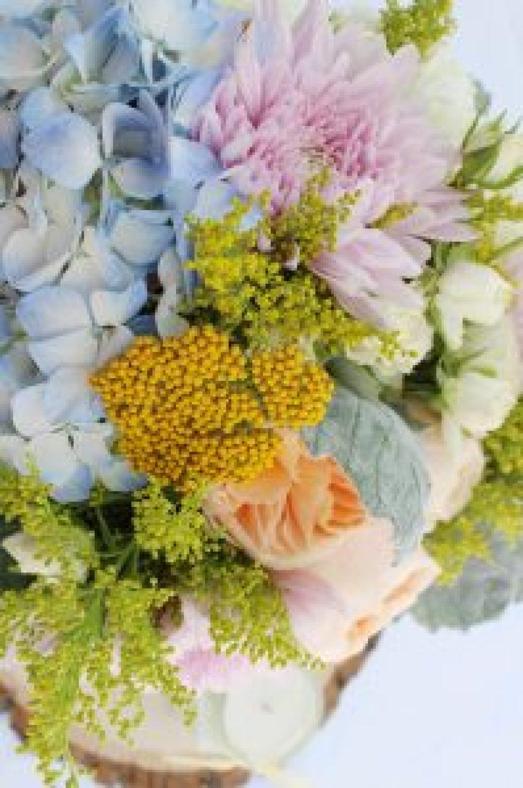 A Pastel Floral Baby Sprinkle