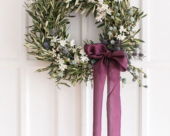 15 Gorgeous Natural Wreaths To Inspire From Autumn to Winter