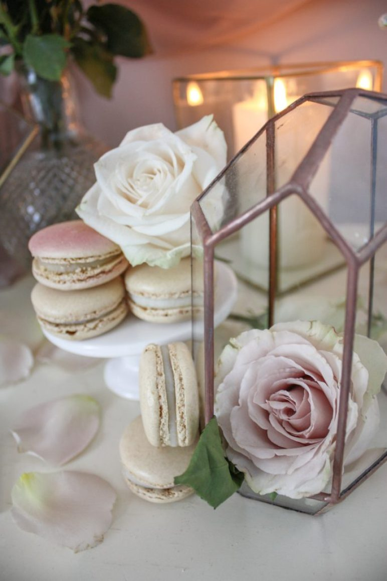 An Elegant & Modern French Macaron Inspired Valentine's Day Styling At Home   Dreamery Events