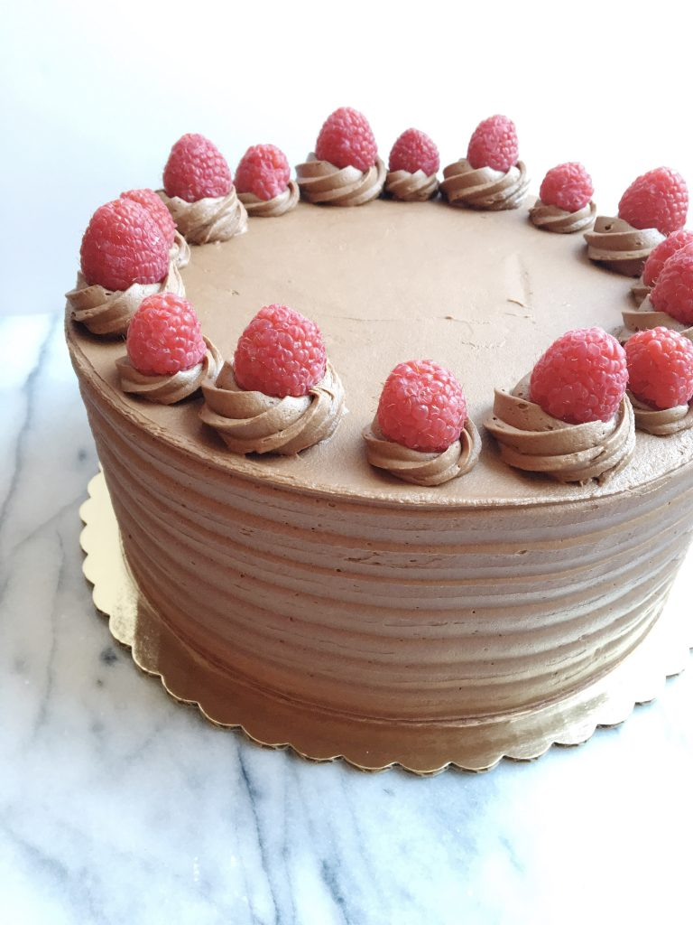 Chocolate Raspberry Cake | Dreamery Events