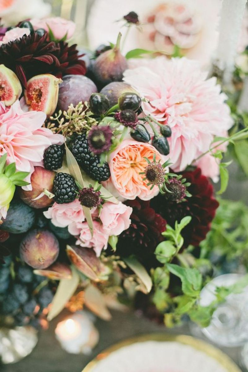 How To : Using Fruits & Vegetables in Floral Arrangements   Dreamery Events