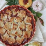 Peach & Raspberry Pandowdy