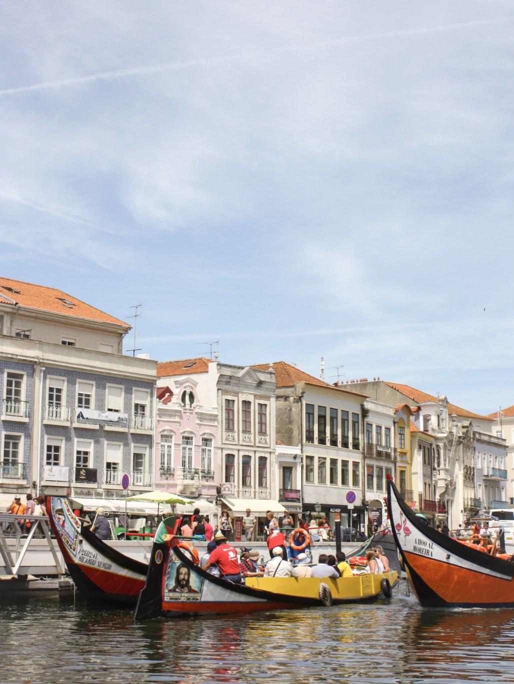 A Moliceiro Boat Ride through Aveiro