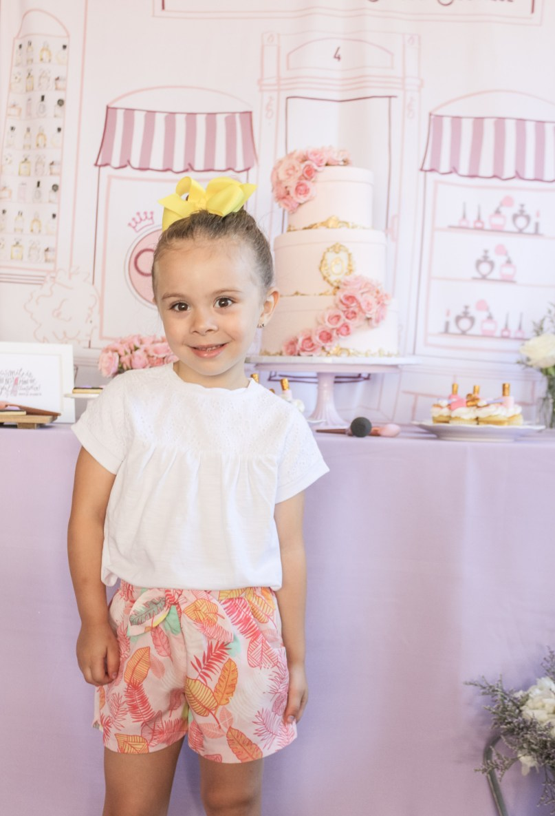 Olivia's Beauty Boutique 4th Birthday Garden Party | Dreamery Events