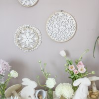 An Easter Tablescape for the Boho Minimalist