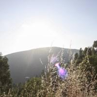Traveling to ….. a picturesque sunset drive through the glow of Serra da Estrela
