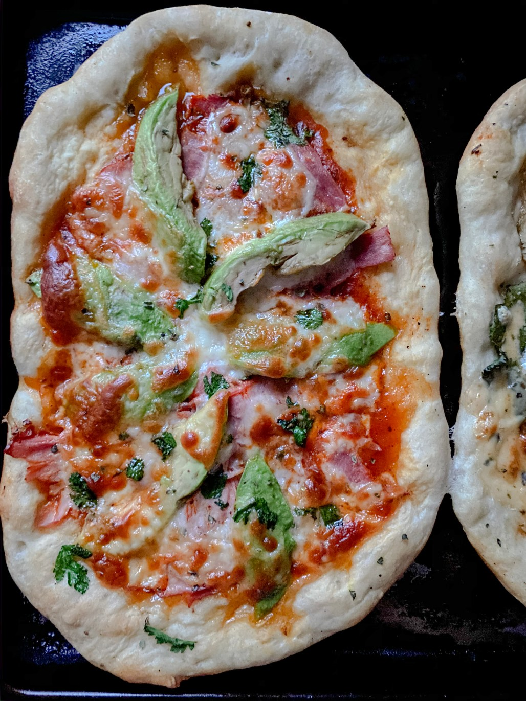 3 Homemade Pizza Recipes that are Better than Takeout :: Smoked Ham, Provolone + Avocado || Dreamery Events