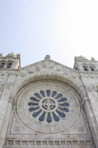 Traveling to ..... Santuário de Santa Luzia :: Viana do Castelo & the Quest for the Meaning of Flower Window Designs    Dreamery Travels