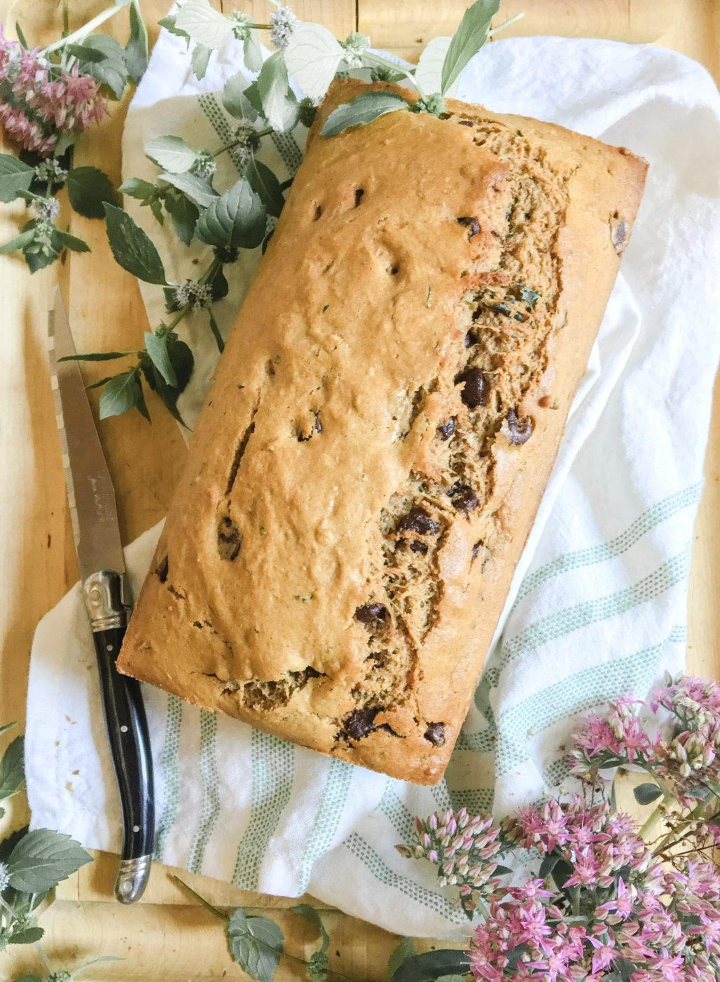 Chocolate Chip Zucchini Bread || Dreamery Events