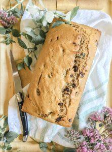 Chocolate Chip Zucchini Bread    Dreamery Events