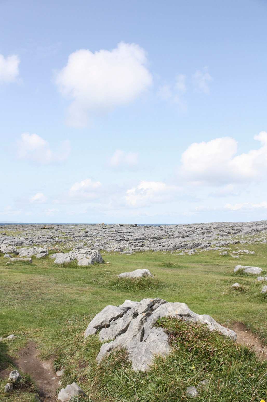 The quiet openness of Burren National Park + the charming liveliness of Galway