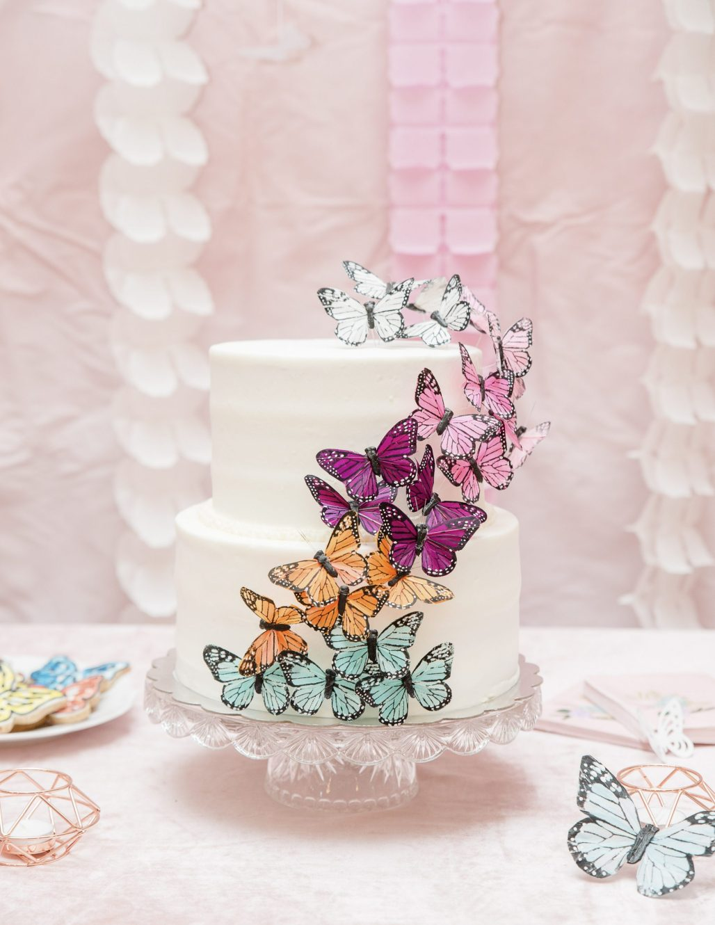 A Boho Butterfly Garden Birthday Inspired by an Amber Sunset Color Palette    Dreamery Events