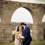 Modern Traditionalism meets a Floral Wonder for Christie & Mario's Portuguese Wedding at Aqueduto Events