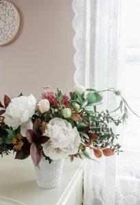 Autumn Florals :: A Foraged Peony Arrangement    Dreamery Events