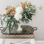 Floral Inspiration :: Boho Terracotta Hues meet French Country Garden