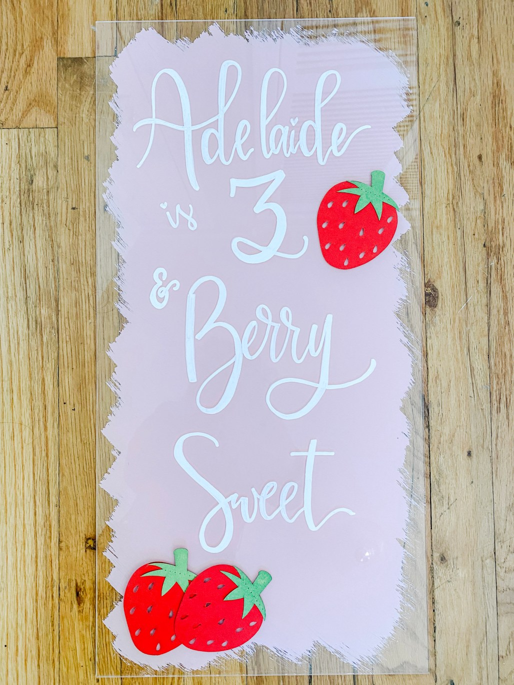 At Home Entertaining :: A New Season of Celebrating Life's Moments ... Strawberry Patch 3rd Birthday || Dreamery Events