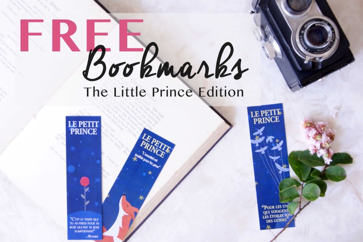 Free Printable Bookmarks: The Little Prince Edition