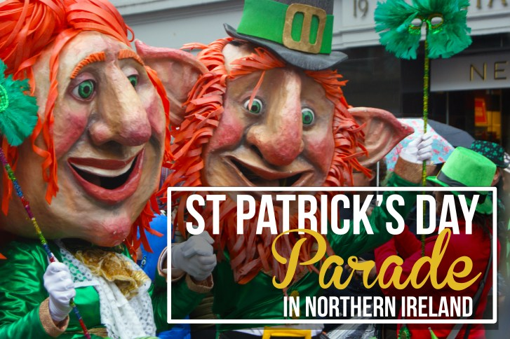 St Patrick's Day parade in Northern Ireland
