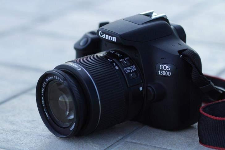 canon 1300 shooting Northern Lights