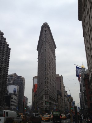 The Flatiron Building is a short walk from F.I.T.