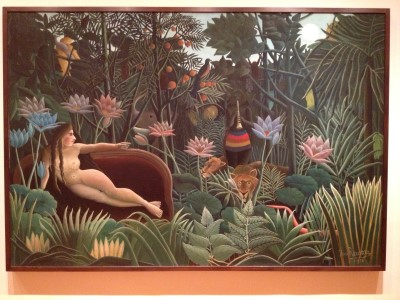 The Dream by Henri Rousseau.